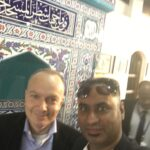 Prof Micheal Thali with Ash, Kuwait conference
